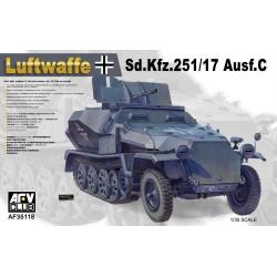 AF35118 AFV Sd.Kfz.251/17 1/35