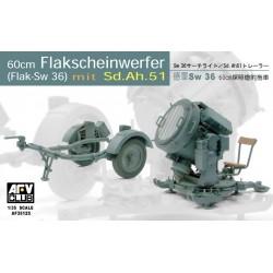 AF35125 AFV 60cm SW 36 Searchlight 1/35
