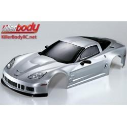 KBD48085 Carrosserie - 1/7 Touring - Traxxas XO-1 - Scale - Finie - Box - Corvette GT2 – Silver