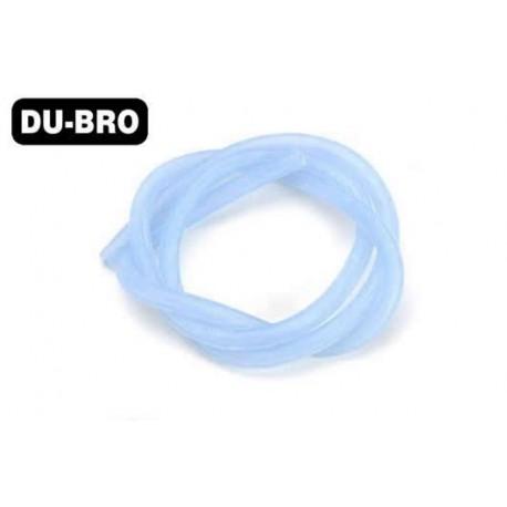 DUB223 Durite pour mélange nitro - Large Flux - 6.4 x 3mm - 61cm (2 ft) – bleu
