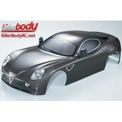 KBD48095 Carrosserie - 1/7 Touring - Traxxas XO-1 - Scale - Finie - Box - Alfa Romeo 8C – Gunmetal