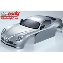 KBD48094 Carrosserie - 1/7 Touring - Traxxas XO-1 - Scale - Finie - Box - Alfa Romeo 8C – Silver