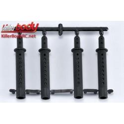 KBD48105 Pièces de carrosserie - Accessoires 1/10 - Scale - Support de carrosserie
