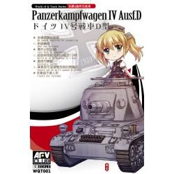 AFWQT001 Panzerkampfwagen IV Ausf.D 1/35