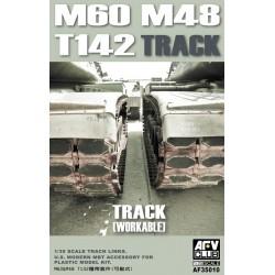 AF35010 AFV M48/60 Tracks (T142) 1/35