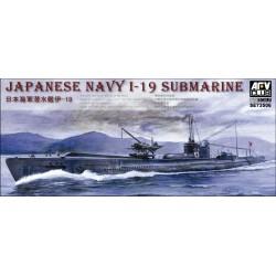 AF73506 AFV IJA I-19 Submarine 1/350