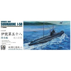 AF73507 AFV Japan I-58 Submarine 1/350