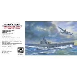 AF73511 AFV GATO 1943 1/350