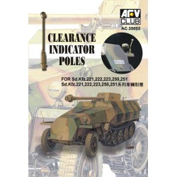AFAC35002 AFV Sd.Kfz. Clearence Poles (6)1/35