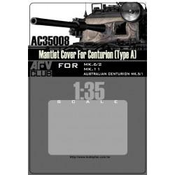 AFAC35008 AFV Mantlet Cover Centurion'A' 1/35