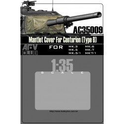 AFAC35009 AFV Mantlet Cover Centurion'B' 1/35