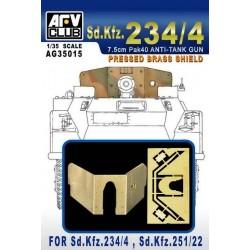 AFAG35015 AFV Brass Shield Sd.Kfz.234/4 1/35