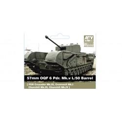 AFAG35022 AFV 57mm OQF Metal Barrel 1/35