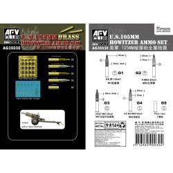 AFAG35030 U.S. 105mm Howitzer Ammo Set 1/35