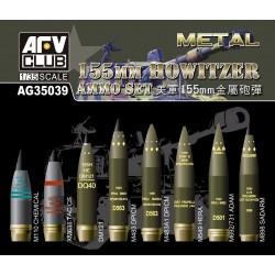 AFAG35039 Kit NATO 155mm Howitzer Ammo 1/35