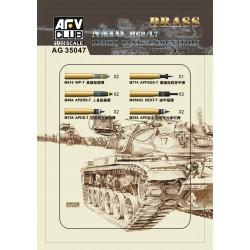 AFAG35047 NATO M68/L7 105mm tank ammunit.1/35