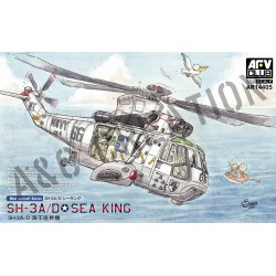AFAR14405 SH-3A Sea King (2 pcs) 1/144