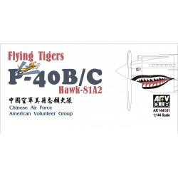 AFAR144S01 Flying Tigers P40B Chawk 81A2 1/144