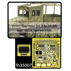 AFTH35007 Germ.Sd Kfz 11 Halftruck Late 1/35