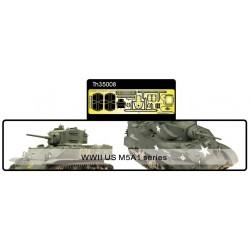 AFTH35008 AFV Super Detail Set M5A1 1/35