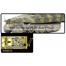 AFTH35010 Germ.SdKfz 251 Ausf D machi. 1/35