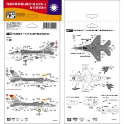 AFTW60009 ROC F-16A/B MLU Decal 1/48