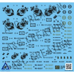 AFTW60016 ROC Marine Corps Veh.Low Decal 1/35