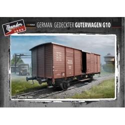 THM35901 Germ.Gedeckter Guterwagen G10 1/35