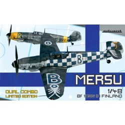 ED11114 Mersu /Bf 109G in Finland Dual Combo Limited Edition