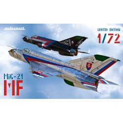 ED2127 MiG-21 MF 1/72, Limited Edition