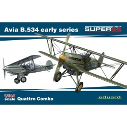 ED4451 Avia B.534 early series QUATTRO COMBO Super44