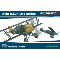 ED4452 Avia B.534 late series Quattro Combo Super44