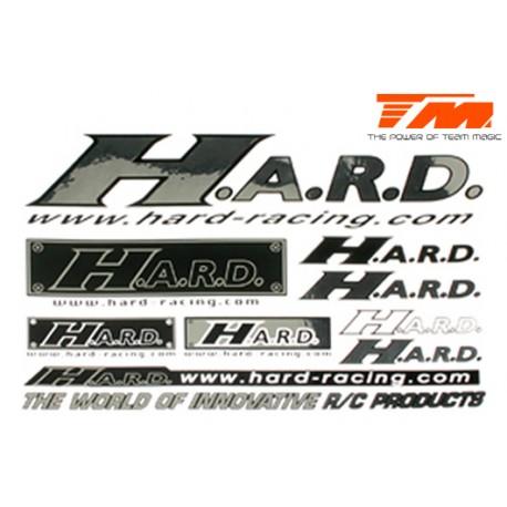HARD3001S Autocollants – HARD