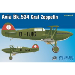 ED7445 Avia Bk-534 Graf Zeppelin Weekend Editio