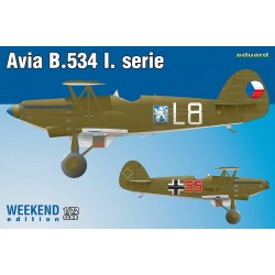 ED7446 Avia B-534 I.serie, Weekend Edition