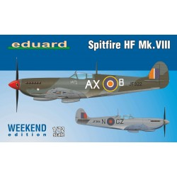 ED7449 Spitfire HF Mk.VIII, Weekend Edition