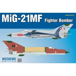 ED7451 MiG-21MF Fighter-Bomber, Weeken Edition