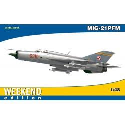 ED84124 MiG-21 PFM Weekend