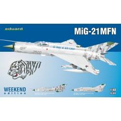 ED84128 MiG-21 MFN Weekend