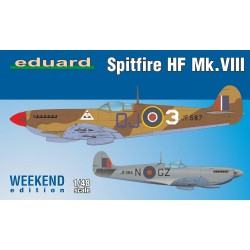 ED84132 Spitfire HF Mk.VIII, Weekend Edition