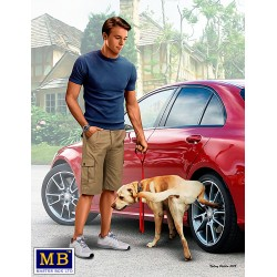 MB24049 Bart & Radley (Dog) 1/24