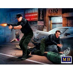 MB24065 The Heist Kit 2 - Johnson Bros 1/24