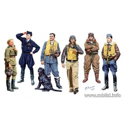 MB3201 MB Famose Pilots of WW II N°1 1/32