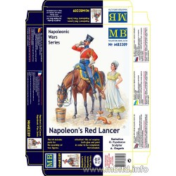 MB3209 Napoleon's Red Lancer 1/32