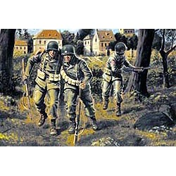"""MB3511 """"US paratroopers (1944)"""" 1/35"""