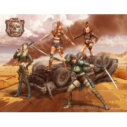 MB35122 Desert Battle Skull Clan Death 1/35