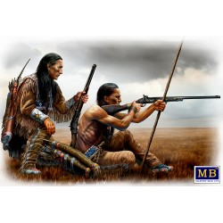 MB35128 Indian Wars Series Remote Shot 1/35