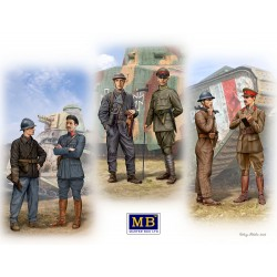MB35134 Tankmen of WWI era 1/35