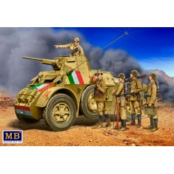 MB35144 Italian Military Men WWII Era 1/35