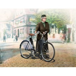 MB35166 Woman & Women's Bicycle Europe 1/35